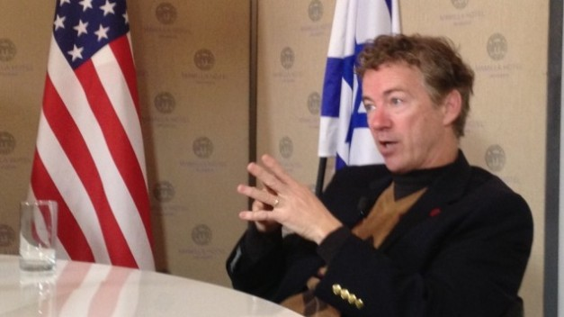 Rand Paul in Israel 02