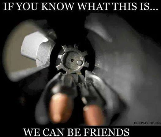 Guns and friends