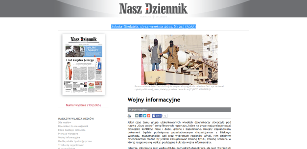 Wojny informacyjne (Nasz Dziennik)