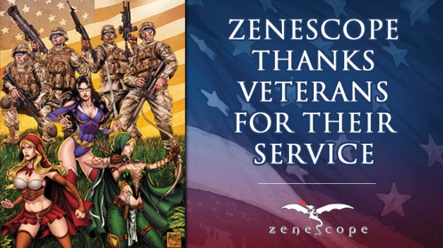 Zenescope Veterans Day 2014