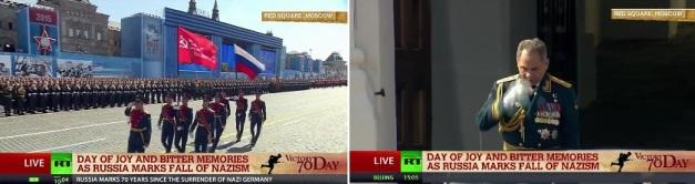 Mosca, 9 maggio 2015, parata, 70° anniversario vittoria sul nazismo