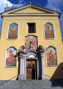 Chiesa parrocchiale della Santissima Trinità, Ponte di Legno