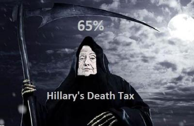 Hillary Clinton Death Tax