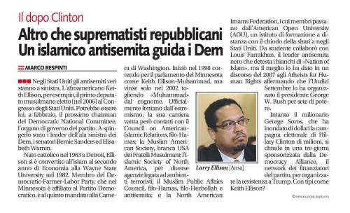 Libero, 16-11-2016 [Keith Ellison]